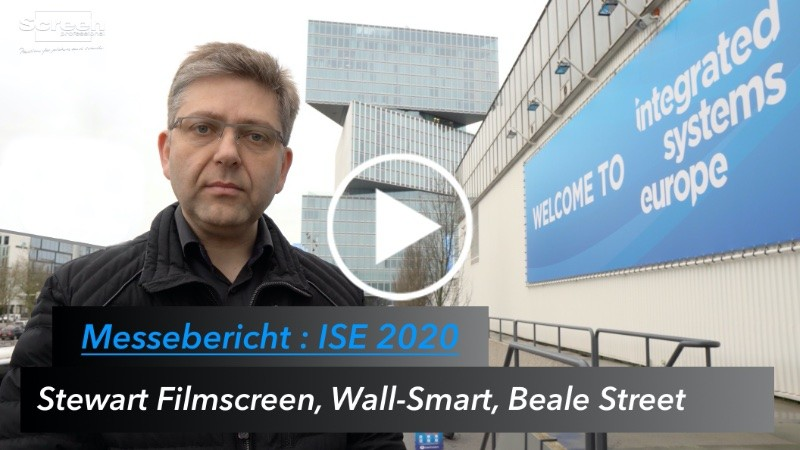 MESSE: Integrated Systems Europe 2020